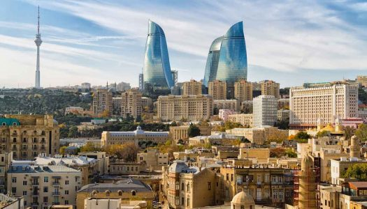 BEAUTY AND BUSTLE IN BAKU