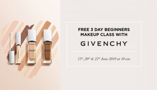 Givenchy's Beginners Makeup Class