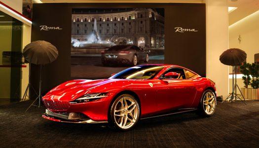Ferrari Roma makes its Qatari debut