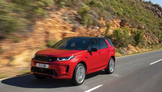 COMPACT PREMIUM SUV OF THE YEAR: LAND ROVER DISCOVERY SPORT
