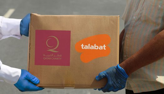 talabat and Qatar Charity distribute 10,000 meals as a result of the talabat grocery QAR 1 donation campaign.