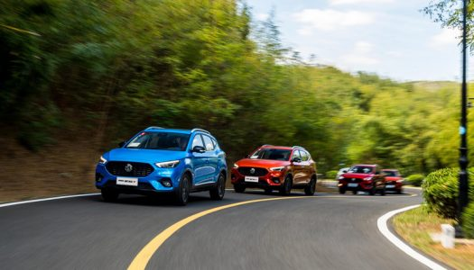 Auto class Cars launches The New MG ZST at Heart of Enhanced Crossover Line-up from British-born Car Brand