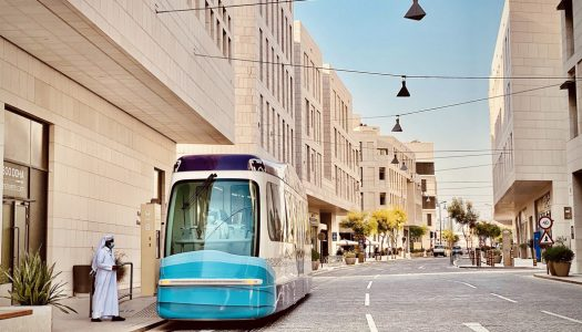 TIG/m, Manufacturing firm of Msheireb Downtown Doha Tram, Receives Prominent Awards Global Light Rail Awards 2020
