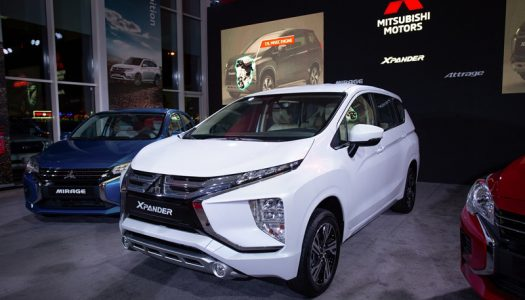 Qatar Automobiles company launches the all-new Mitsubishi Xpander SUV, and unveils the new Mirage and Attrage compact cars