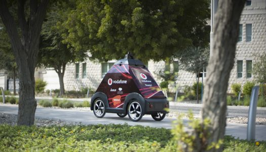 Qatar First Self Driving Delivery Kicks-off at QF Education City