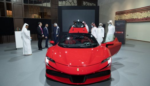 THE FERRARI SF90 STRADALE DEBUTS  IN QATAR