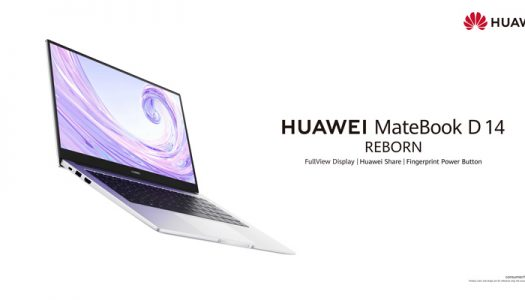 Huawei Launches the powerful Ultralight HUAWEI MateBook D 14 for an All-scenario Experience