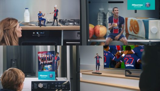 HISENSE CREATES BOLD NEW CAMPAIGN WITH PARTNER CLUB  PARIS SAINT-GERMAIN